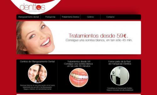 Pantalla Web Denttos