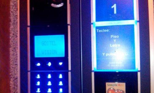 Instalación telefonillo