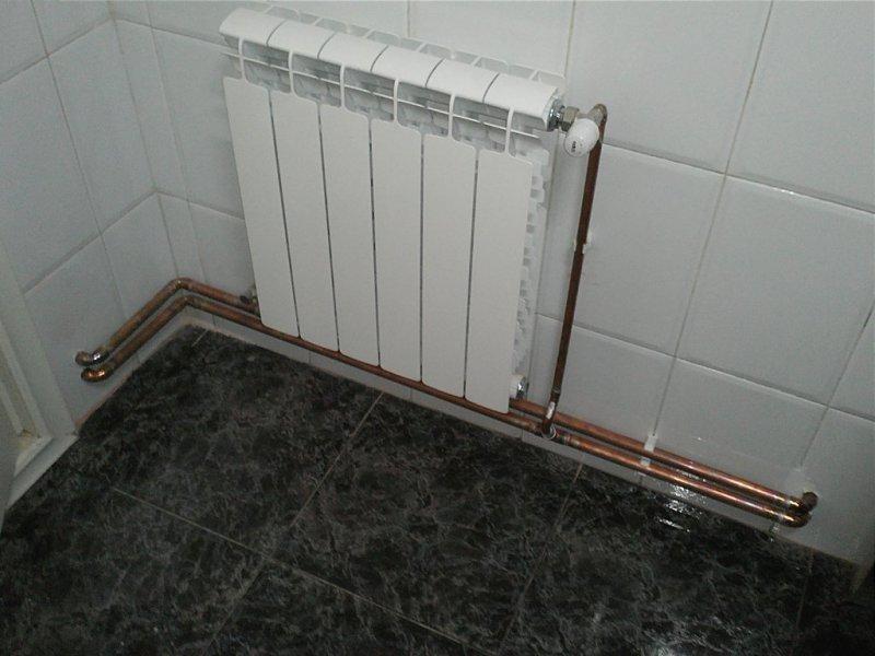 Radiador calefacció