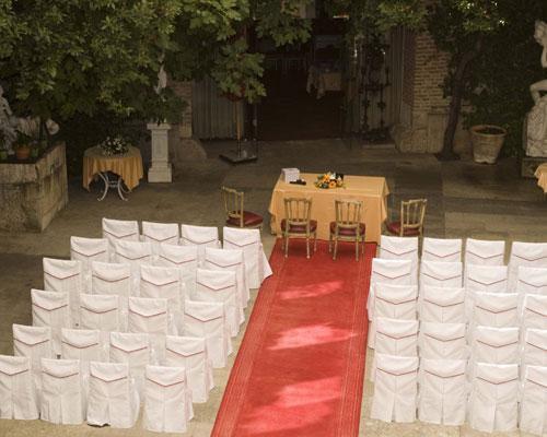 Ceremonia en patio