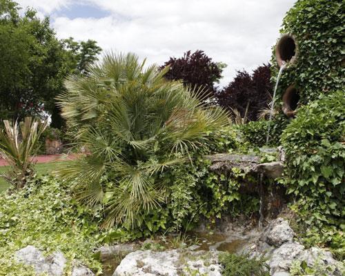 El recinto cuenta con espectaculares jardines