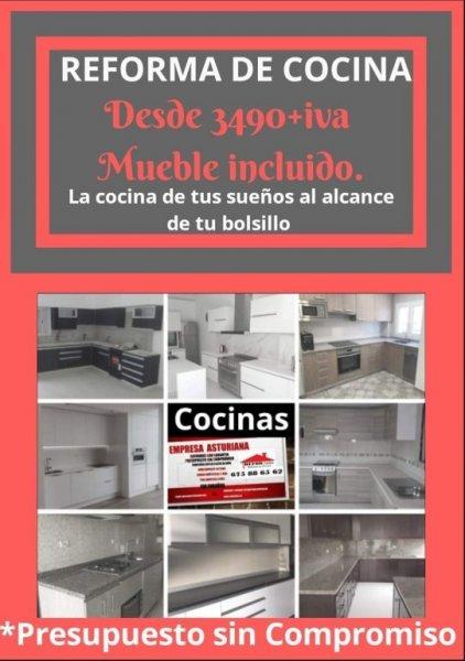 Reformas de cocinas en asturias - Refornalon