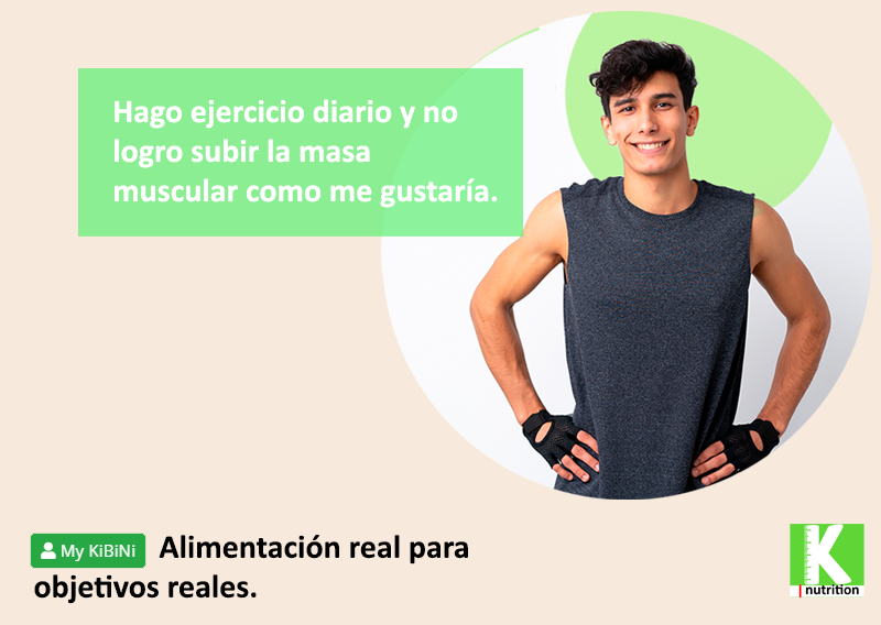 Alimentación real para objetivos reales. Planes nutricionales para aumentar masa muscular.