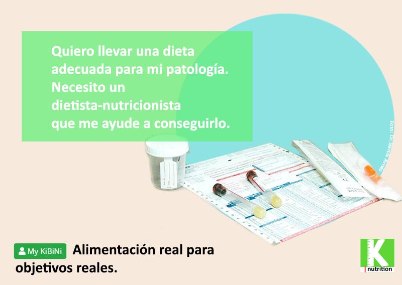 Alimentación real para objetivos reales. Dietoterapia para patologías concretas y mejorar las analíticas