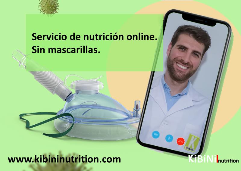 Consulta de nutrición online personalizada