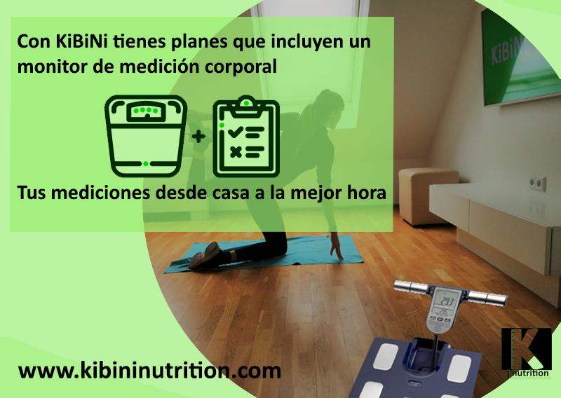 Envíanos un equipo de medición corporal validado clínicamente a domicilio