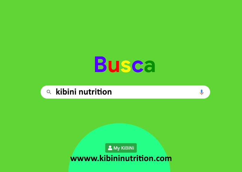 busca kibini nutrition en tu buscador habitual
