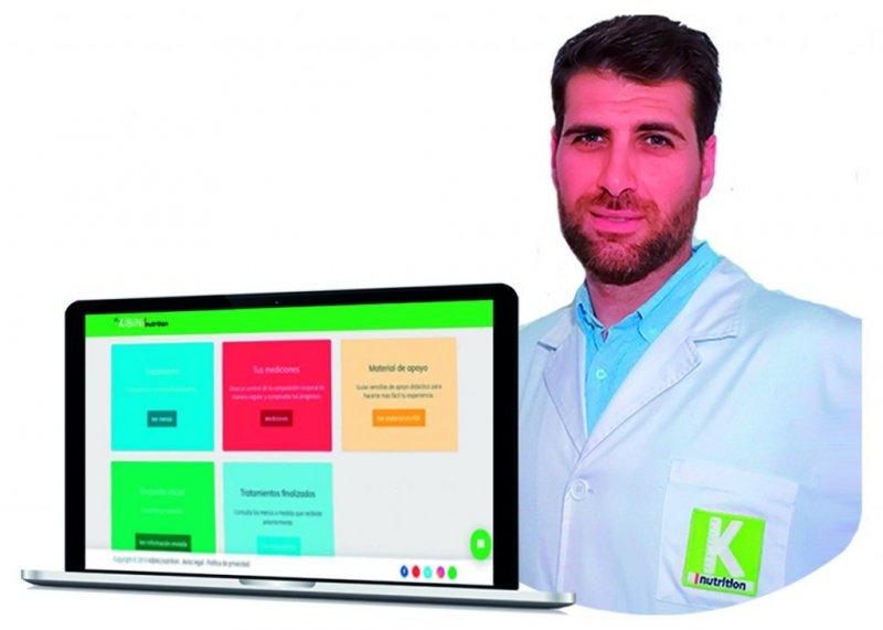 Plataforma de nutrición online y app móvil para tener el mejor asesoramiento de tu dietista-nutricionista ahorrando en desplazamientos y sin perder citas de consulta
