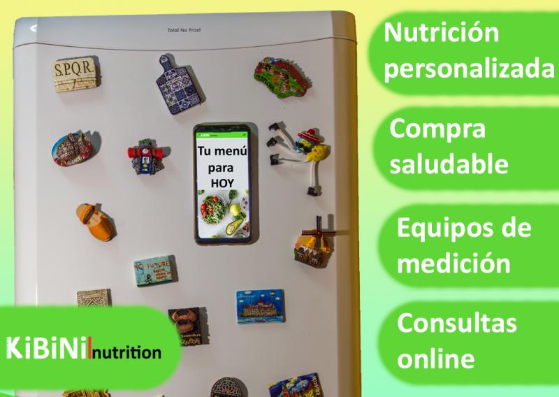 Menús a medida, consultas periódicas online, siempre acompañado por tu dietista-nutricionista