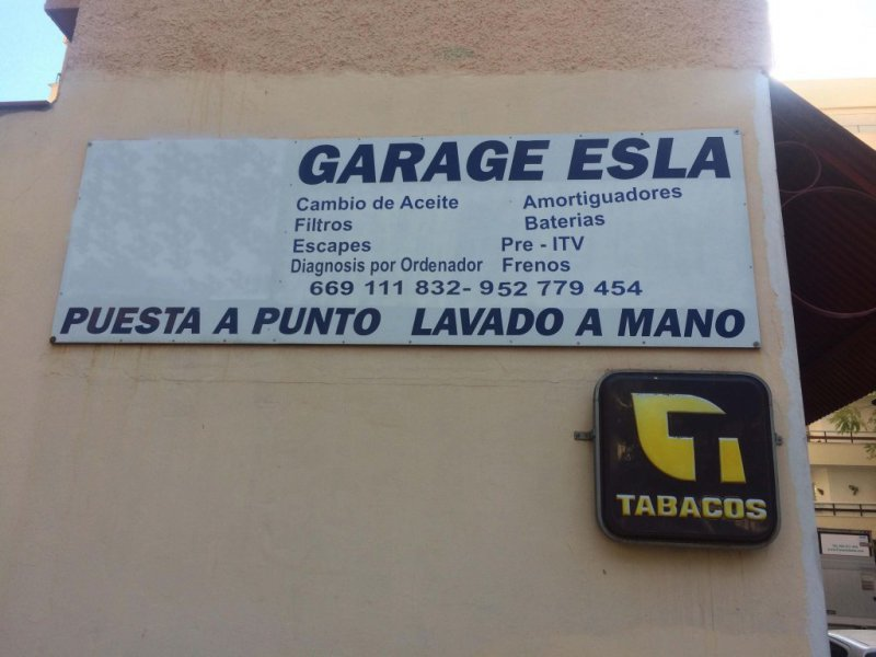 garage esla marbella
