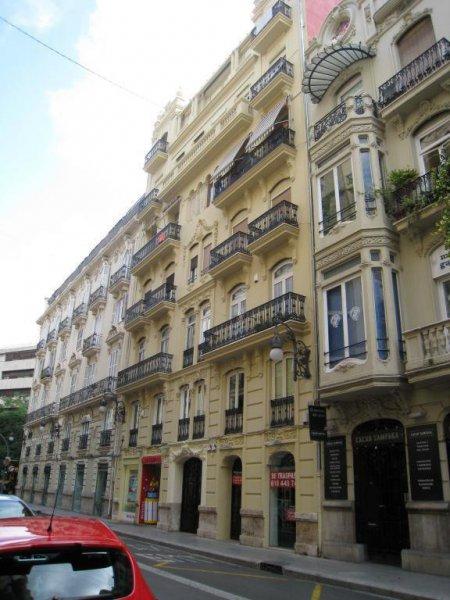 Reabilitación  de  Fachada  principal   de local del edificio de la Seguridad social  en Valencia