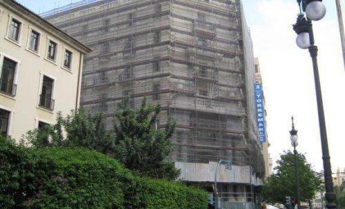 Rehabilitación  de  fachada  principal  del  local  central  de lla SS  de  valencia