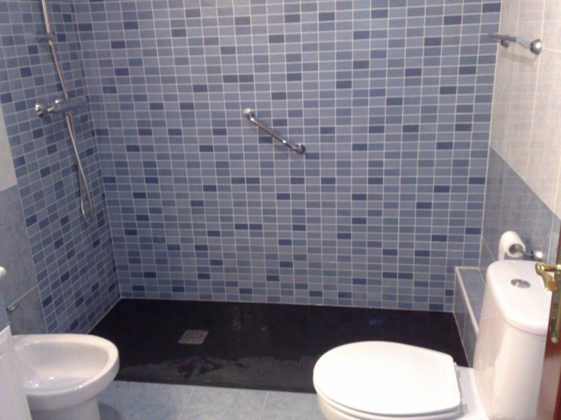 cambio bañera x plato