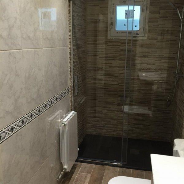 cambio de bañera x plato alicantando solo zona plato ducha