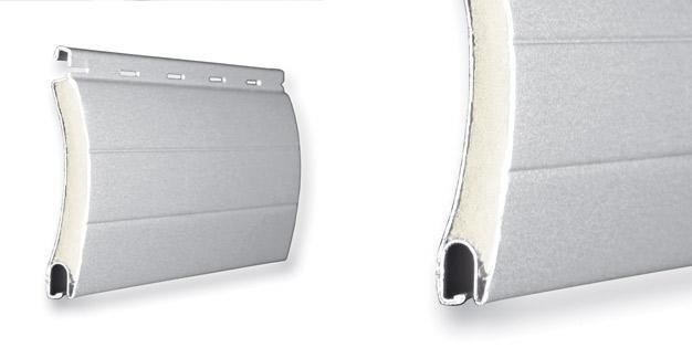 Lamas de aluminio para persianas enrollables