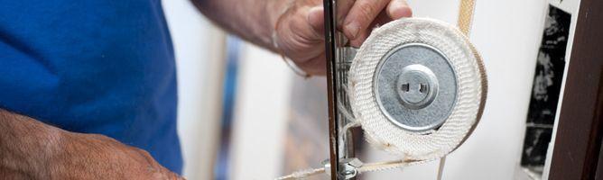 Reparar cinta de persiana