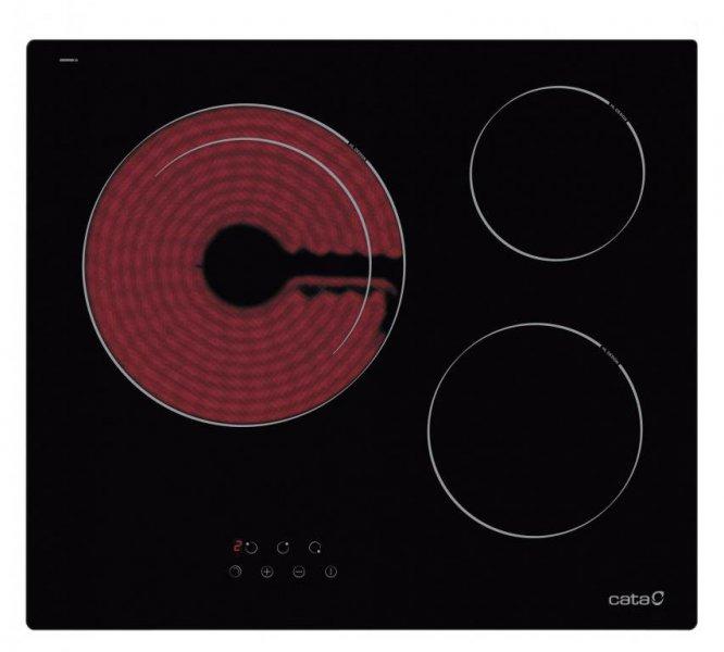 Instalamos esta vitrocerámica Cata TDN603 por solo 209€