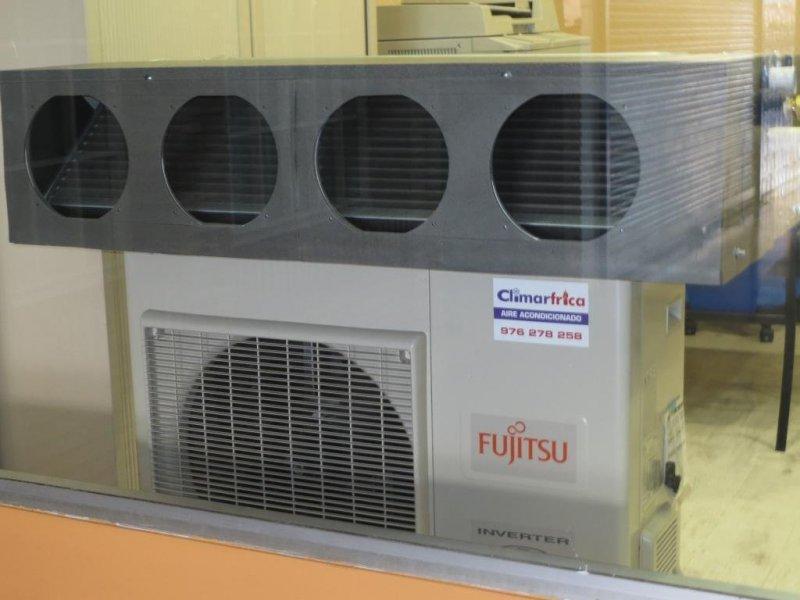Fujitsu, Daikin, Kosner, Samsung entre otras marcas