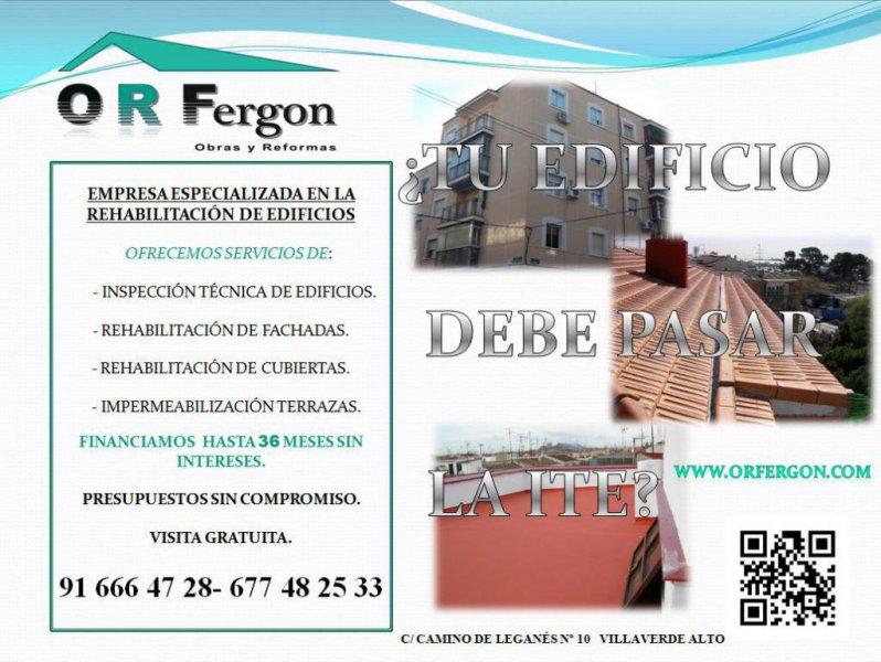 INSPECCION TECNICA DE EDIFICIOS VILLAVERDE
