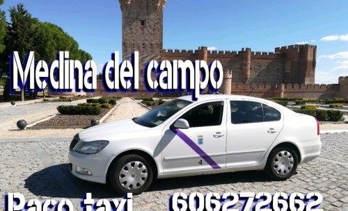 Servicio 24 horas de taxi en medina del campo