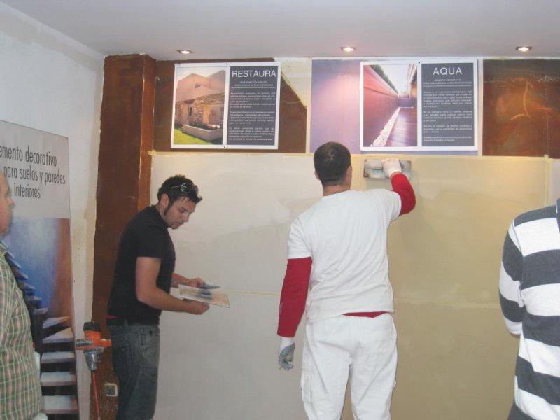 Ortiz Pintores y Microcemento en Málaga