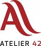 Logo Atelier 42 Estilistas Peluquería y Barberia en Getafe