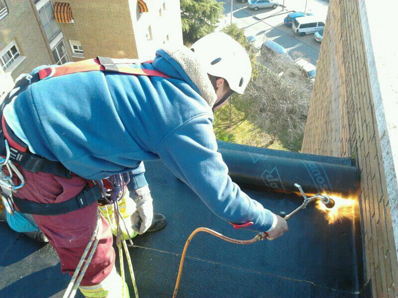 Trabajos verticales Alcru, trabajos verticales y reformas en Madrid