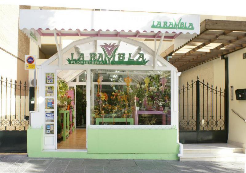 fachada de la tienda