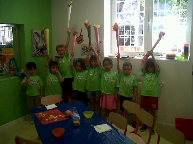 Niños aprendiendo inglés