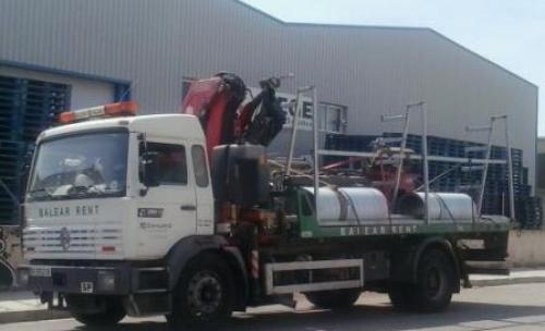 Transporte Materiales Mallorca