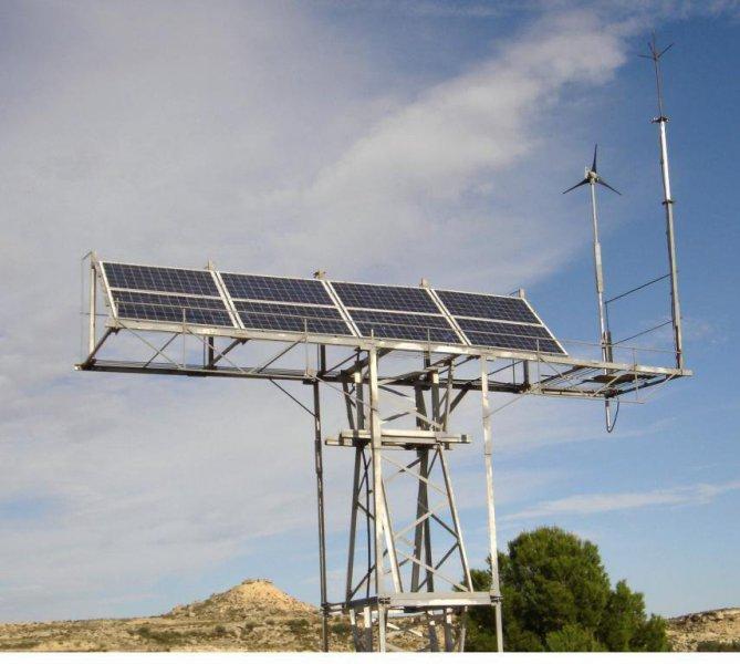Instalacion solar para vivienda permante.