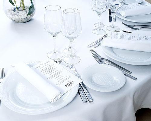 Menús de boda personalizados