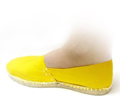 Alpargatas amarillas