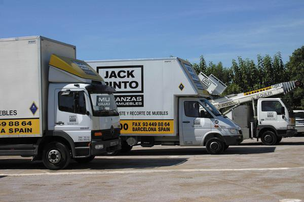 Mudanzas Jack Pinto, mudanzas nacionales e internacionales desde Barcelona