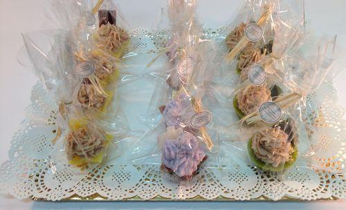 Cupcakes listos para entregar