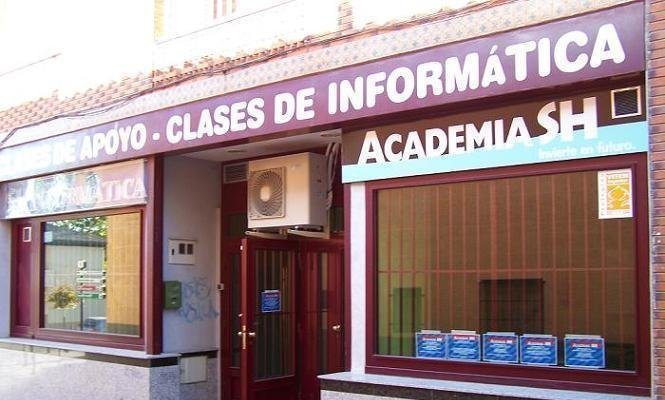 La entrada a la Academia SH