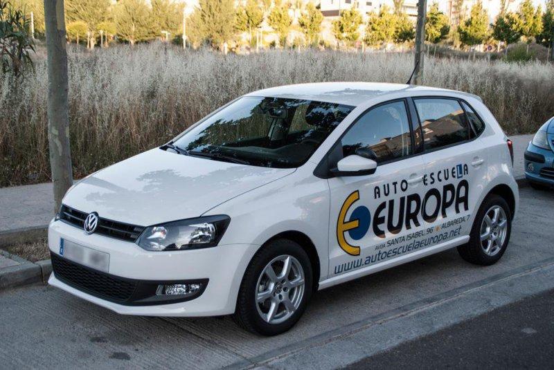 Autoescuela Europa Oroel, autoescuela en Zaragoza