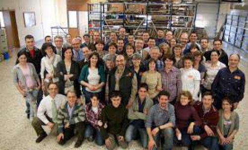 Socios y trabajadores de CEVAGRAF, S.C.C.L.