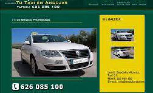 Pagina web de www.andujartaxi.es
