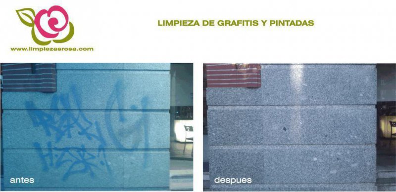 Eliminacion de graffitis