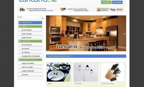 Tienda Online Lancaria