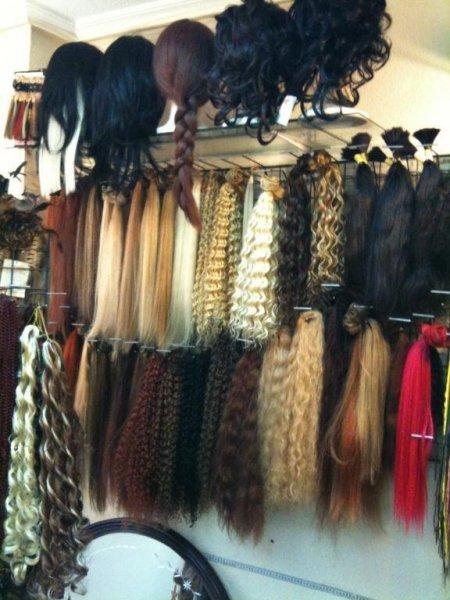todo extensiones de pelo virgen, lisso, rizado, ondulado