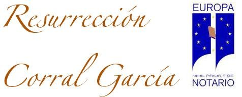 Notaría Resurrección Corral García