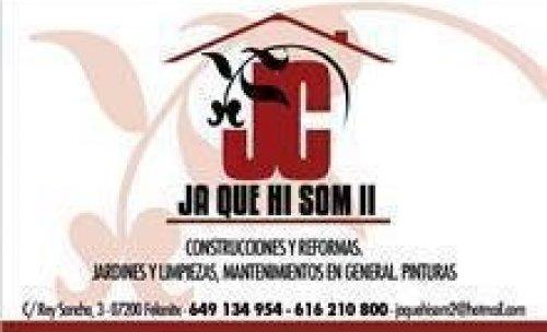 LOGOTIPO JAQUEHISOMDOS SL REFORMAS Y MANTENIMIENTOS