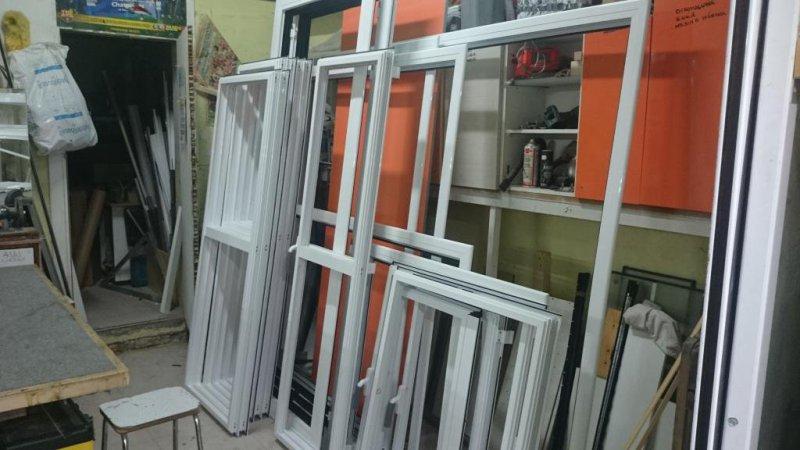 Ventanas Aluminio en Blanco, plata, negro, madera, etc..