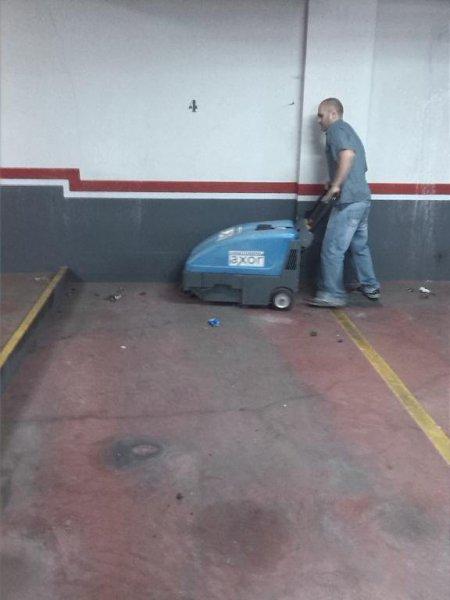 limpiezas mecanicas de garaje