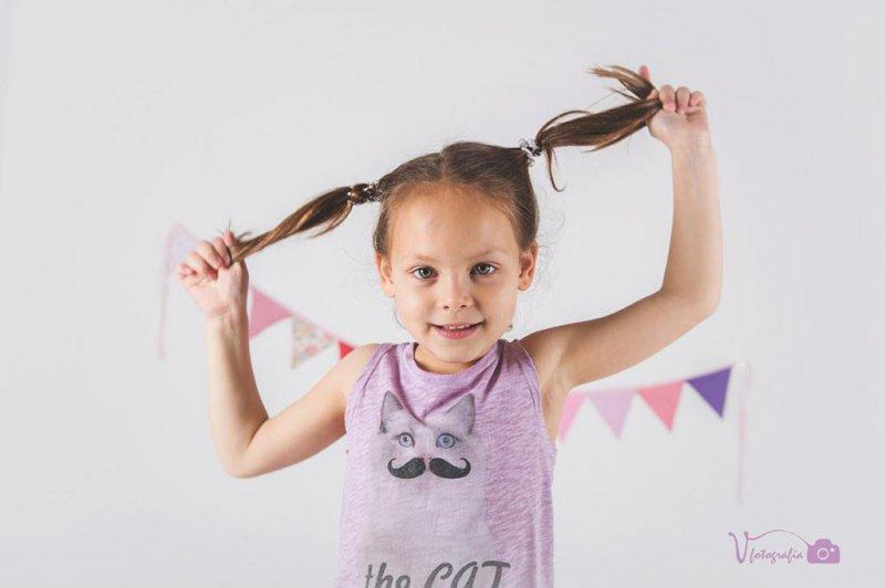 Fotografía infantil de Vfotografía
