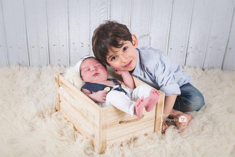 Fotografía recién nacido de Vfotografía