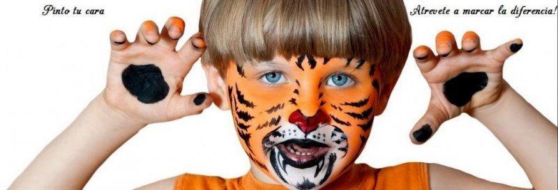 maquillaje infantil- tigre