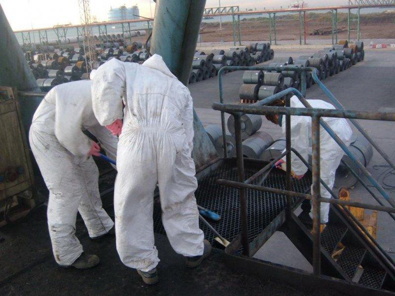 limpieza industrial de gruas